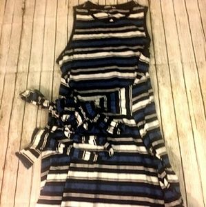 🆕 Gap maxi tie dress size Large🖤